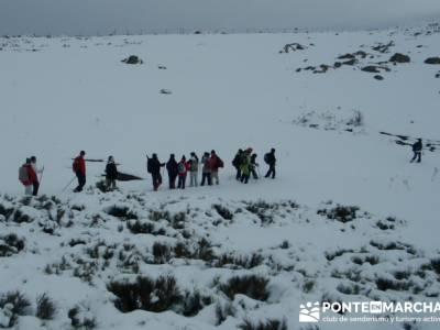 Ascenso al Mondalindo - ruta Comunidad de Madrid; viajes marzo